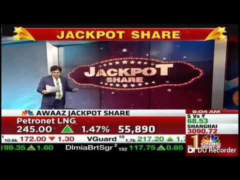 Jackpot Share 'Petronet LNG' on 19 Mar 19