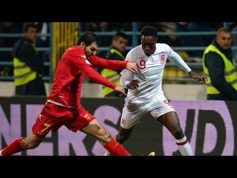 Montenegro vs England 1-1 official highlights: Road To Rio World Cup Qualifier