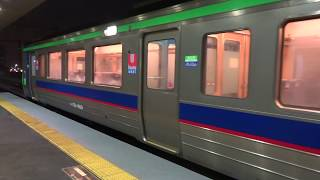 区間快速「いしかりライナー」 モハ721-1009 琴似→苗穂 721系 JR北海道 函館本線 3457M