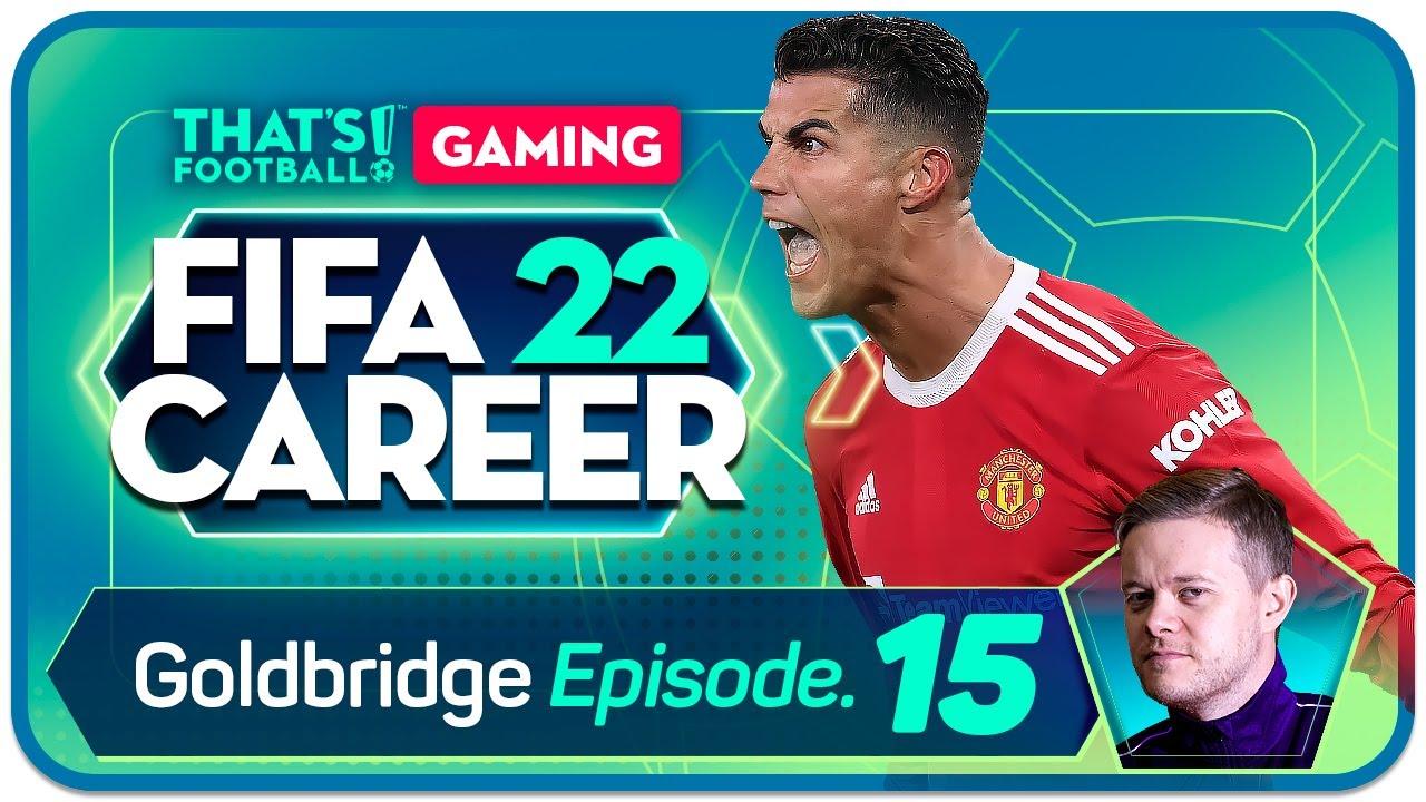 Download FIFA 22 Manchester United Career Mode! GOLDBRIDGE Episode 15