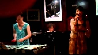 "Yuka Aso, the jazz vocalist sang ""LOVER COME BACK TO ME"" at the Mid..."