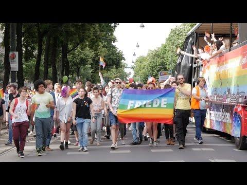 Regenbogenparade in Wien 2016
