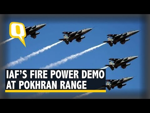 Vayu Shakti 2019: The Fire Power Demonstration Of The Indian Air Force At Pokhran Range