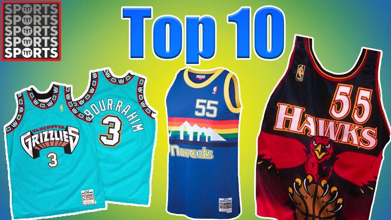 best nba throwback jerseys