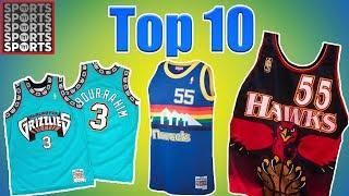 Top 10 NBA Throwback Uniforms