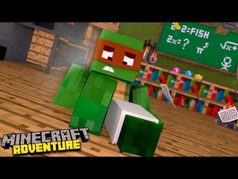 Minecraft Adventure : TINY TURTLE BREAKS HIS LEGS!!!