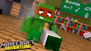 Minecraft Adventure : TINY TURTLE BREAKS HIS LEGS!!!