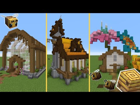 5 Build Ideas For Your Minecraft 1.15 World! [Tutorial]