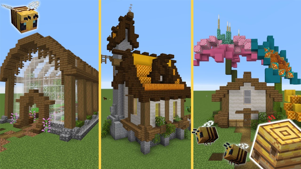 5 Build Ideas For Your Minecraft 1 15 World   Tutorial