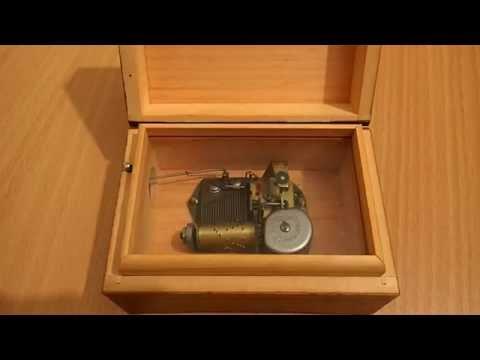 """""""Lara's Theme"""" Thorens Swiss Music Box"""