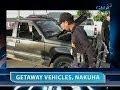 Saksi: 3 getaway vehicle ng mga suspek sa pagpatay sa mayor ng Gonzaga, Cagayan, natagpuan