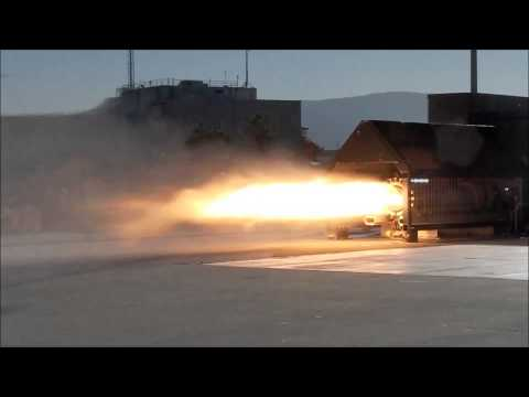 NASA Ames Tests Peregrine Hybrid Sounding Rocket Motor