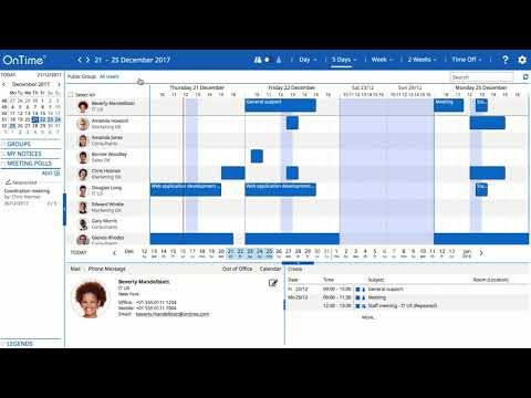 OnTime IBM Desktop / Pollarity - Voting and inviting