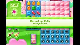 Candy Crush Jelly Saga Level 1242 (3 stars, No boosters)