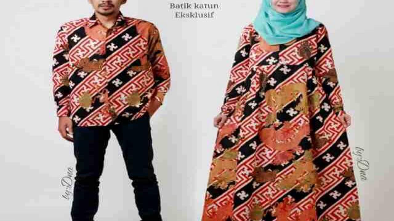 Dinar Batik Art Model Batik Modern Youtube