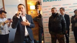 Дебаты Алексея Навального и Ильи Белоуса