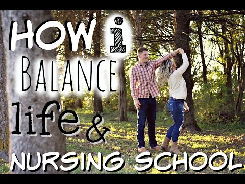 Life Of A Nursing Student: How I BALANCE IT ALL