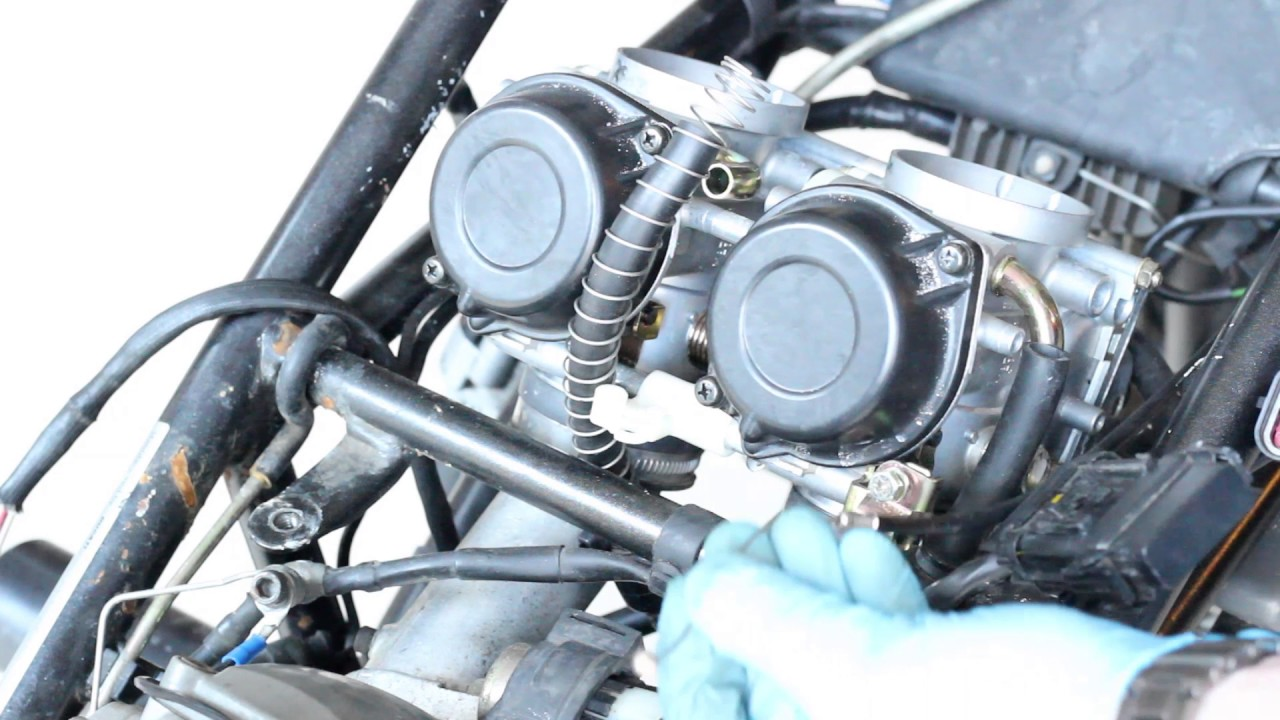 Ducati Monster 750 Carburetor Removal Youtube