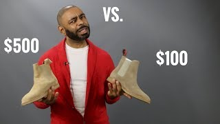 Common Projects Suede Chelsea Boots Vs. New Republic Suede Chelsea Boots/Best Men's Chelsea Boot