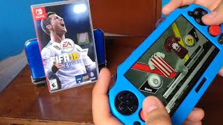 FIFA SE VE MEJOR EN PS VITA O EN NINTENDO SWITCH?