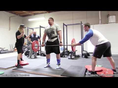 Mikhail Koklyaev and Chad Smith, clash in the deadlift pyramid