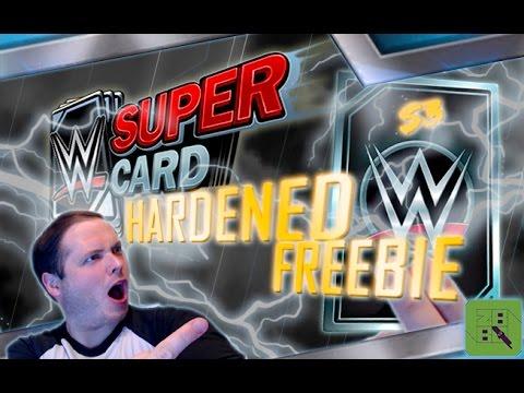 WWE SuperCard SEASON 3 #1 ! MY HARDENED FREEBIE!
