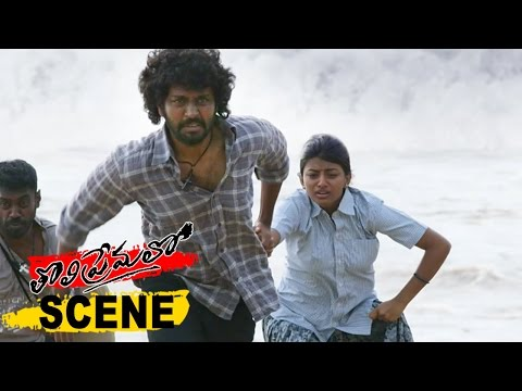 Chandran And Anandhi Gets Seperated - Emotional Love Scene - Tholi Premalo Movie Scenes