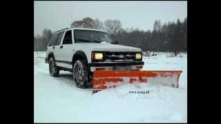PŁUG ŚNIEŻNY DO CHEVROLET BLAZER  SNOW PLOW ATMP ZIMA 2013 maszyny rolnicze