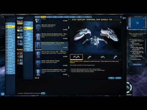 Lukari Dranuur Scout Ship and Sci Build
