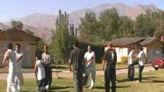 Ingmar Johansson - Kenpo Training Camp Karate Chile Feb-2011