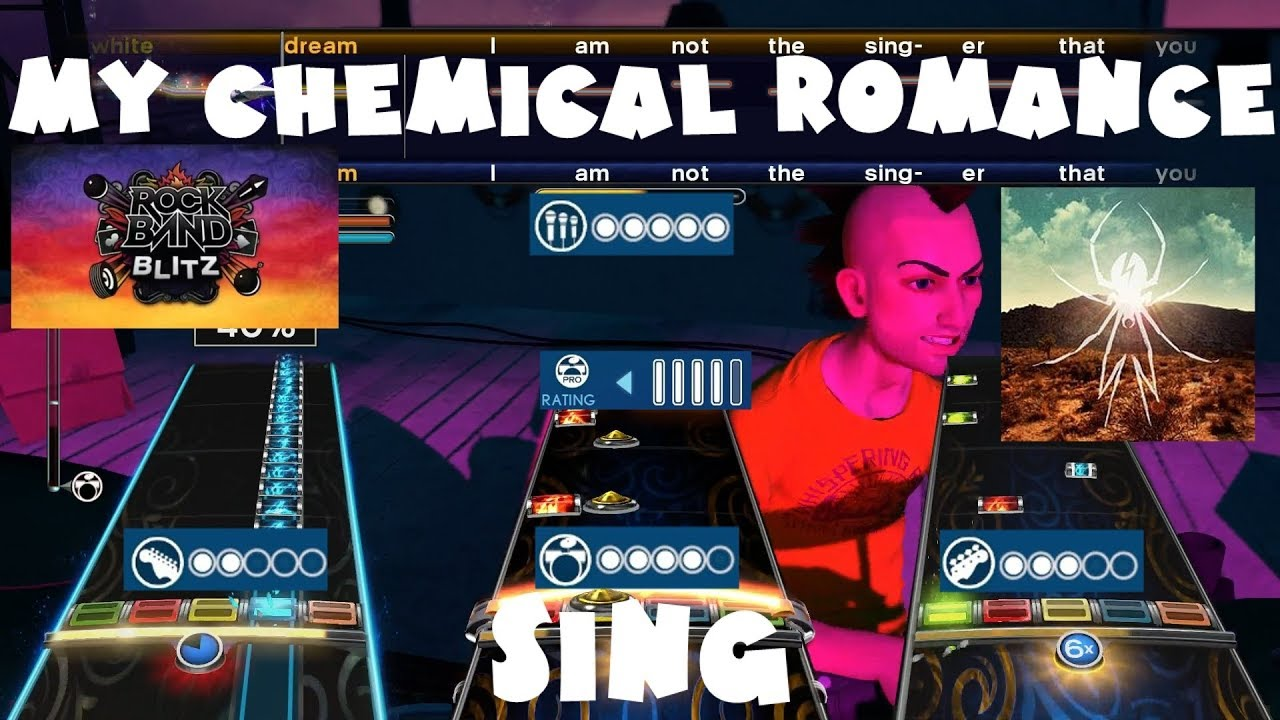 My Chemical Romance - Sing - Rock Band Blitz Expert Full Band
