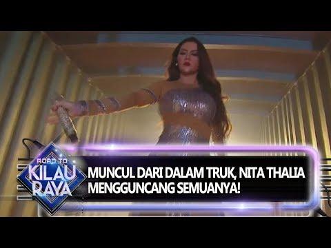 Muncul Dari Dalam Truk! Nita Thalia Mengguncang Panggung Road To Kilau Raya (28/9)