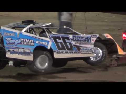 Rocket Ron Berna Crashes After Winning The Features!!!