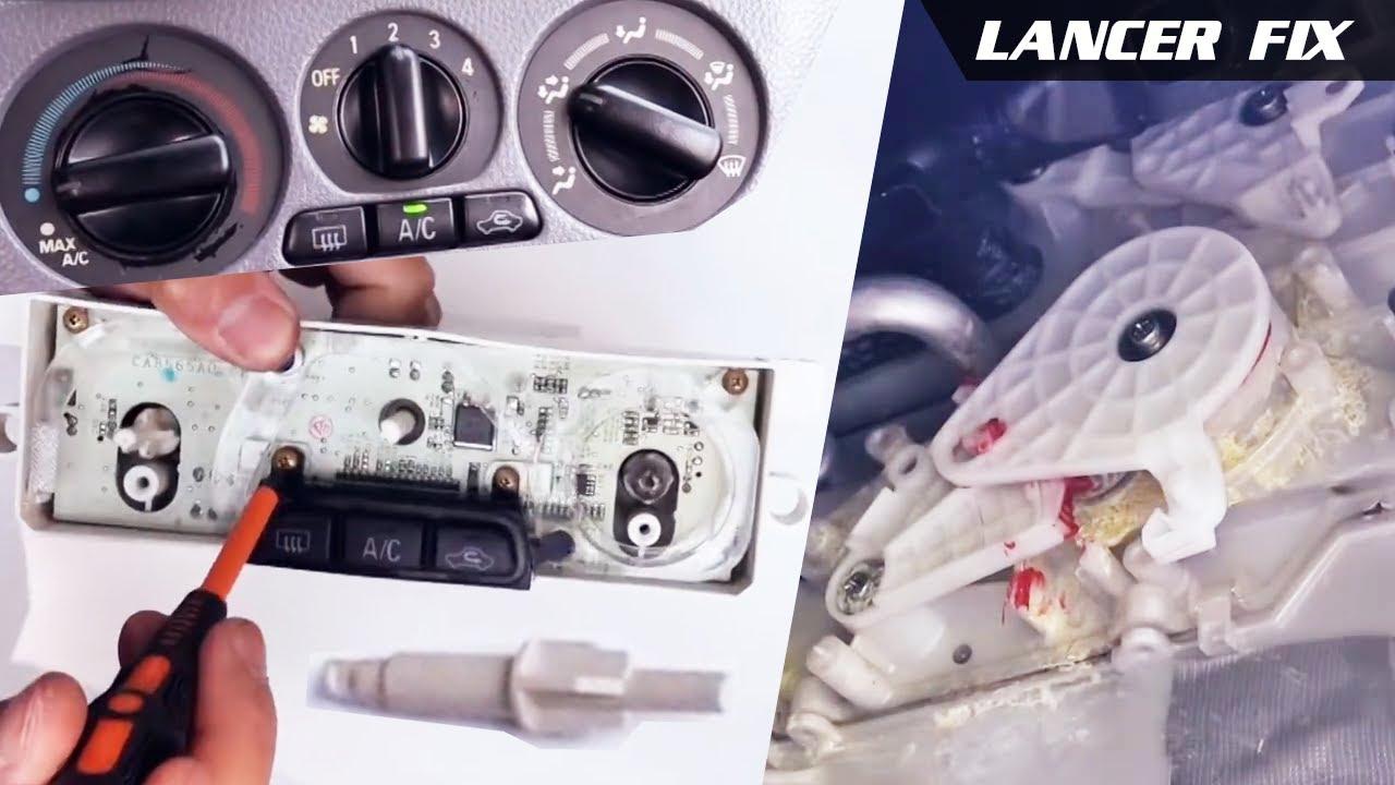 NEW OEM MITSUBISHI 02-07 Lancer 03-06 Outlander Heater A//C CONTROL KNOB MR500925