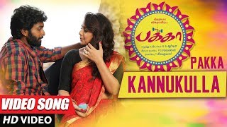 Kannukulla Full Video Song | Pakka Video Songs | Vikram Prabhu, Nikki Galrani | C Sathya