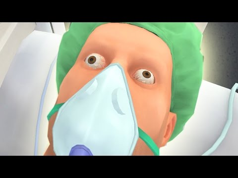 CAN WE SAVE HIM?! *THIS IS CRAZY!*   Surgeon Simulator Mobile