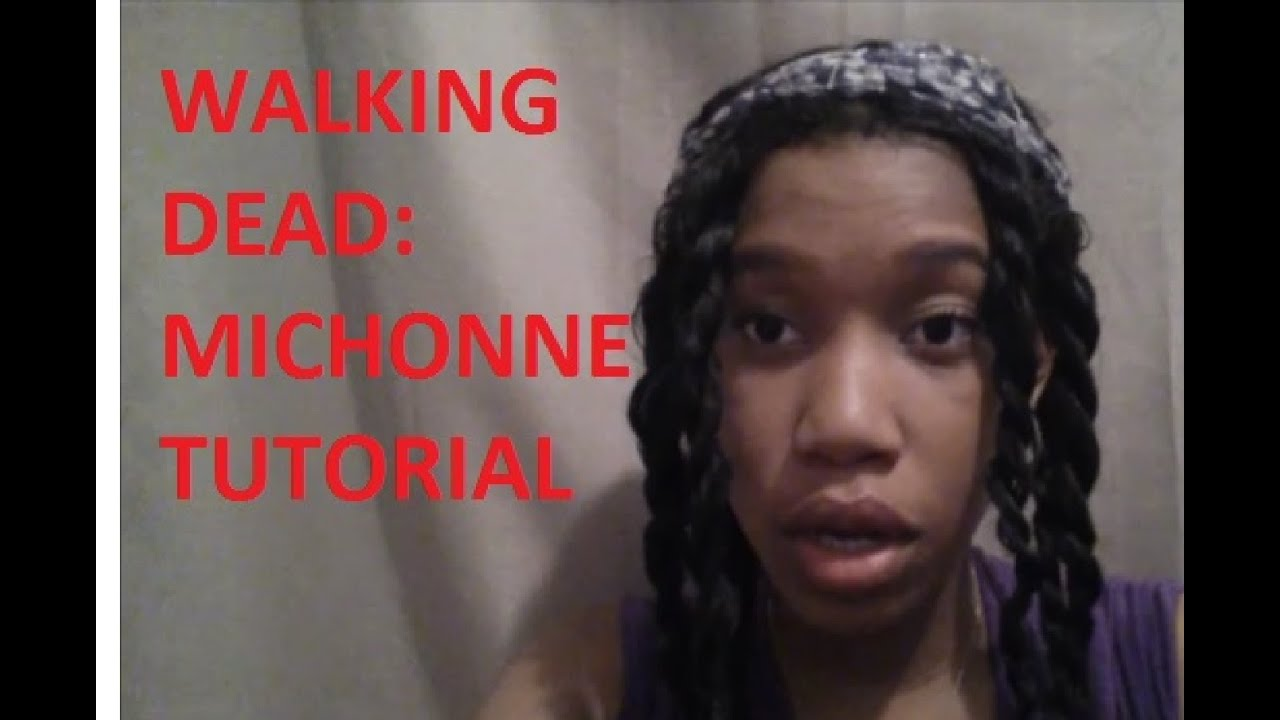 Michonne Halloween Costume Tutorial  sc 1 st  YouTube & Michonne Halloween Costume Tutorial - YouTube