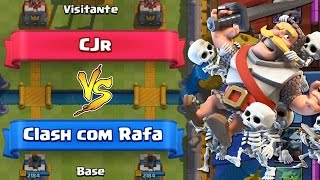 DROPPING a TOWER in 7 SECONDS and GAINING/CJR x CLASH with RAFA in CLASH ROYALE