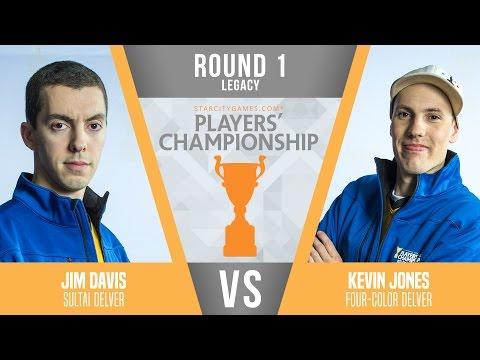SCGPC - Legacy - Round 1 - Jim Davis vs Kevin Jones