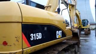 pics for cat 315d crawler excavator