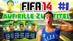 FIFA 14 Ultimate Team World Cup : Auf Rille zum Titel #1 [FACECAM] - DANKE AN 90.000 ABOS !! HD