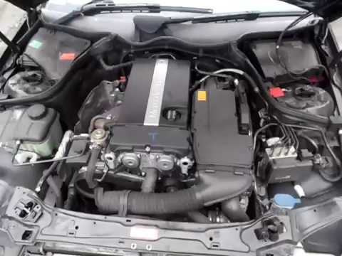 M19527 - MERCEDES W203 COUPE M271.946 C180K 1.8L SUPERCHARGED 4CYL PETROL ENGINE TESTING