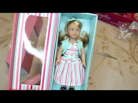 American Girl Maryellen 1954 Book Set And Mini Doll Sam's Club Exclusive Unboxing