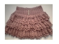 How to Crochet ruffle skirt - video 1
