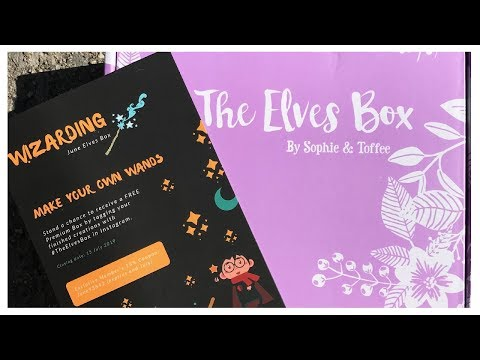 Unboxing Sophie and Toffee's June Elves Box | How to Read S&T Square (QR) Codes