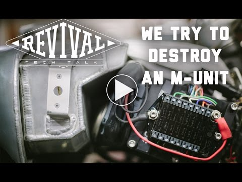 How to destroy a Motogadget M-Unit - Revival Cycles' Tech Talk