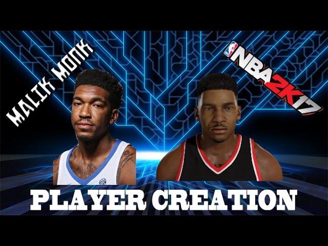 Malik Monk Creation NBA 2K17