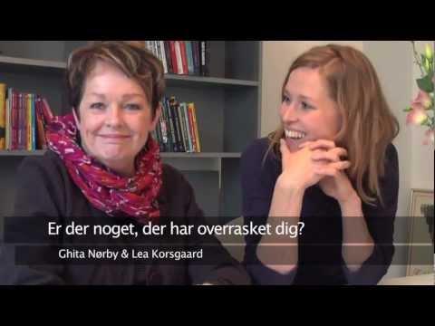 Interview med Ghita Nørby og Lea Korsgaard