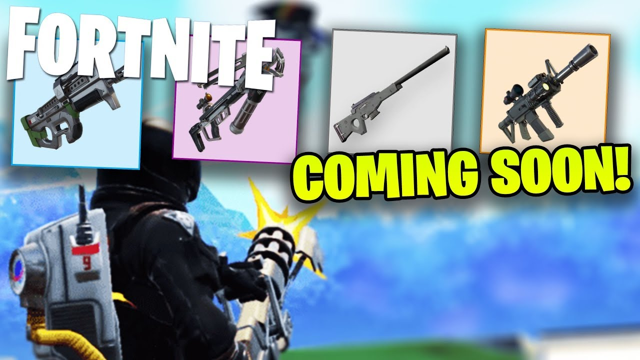 new guns coming to fortnite in the next couple weeks fortnite new guns - new fortnite guns coming out