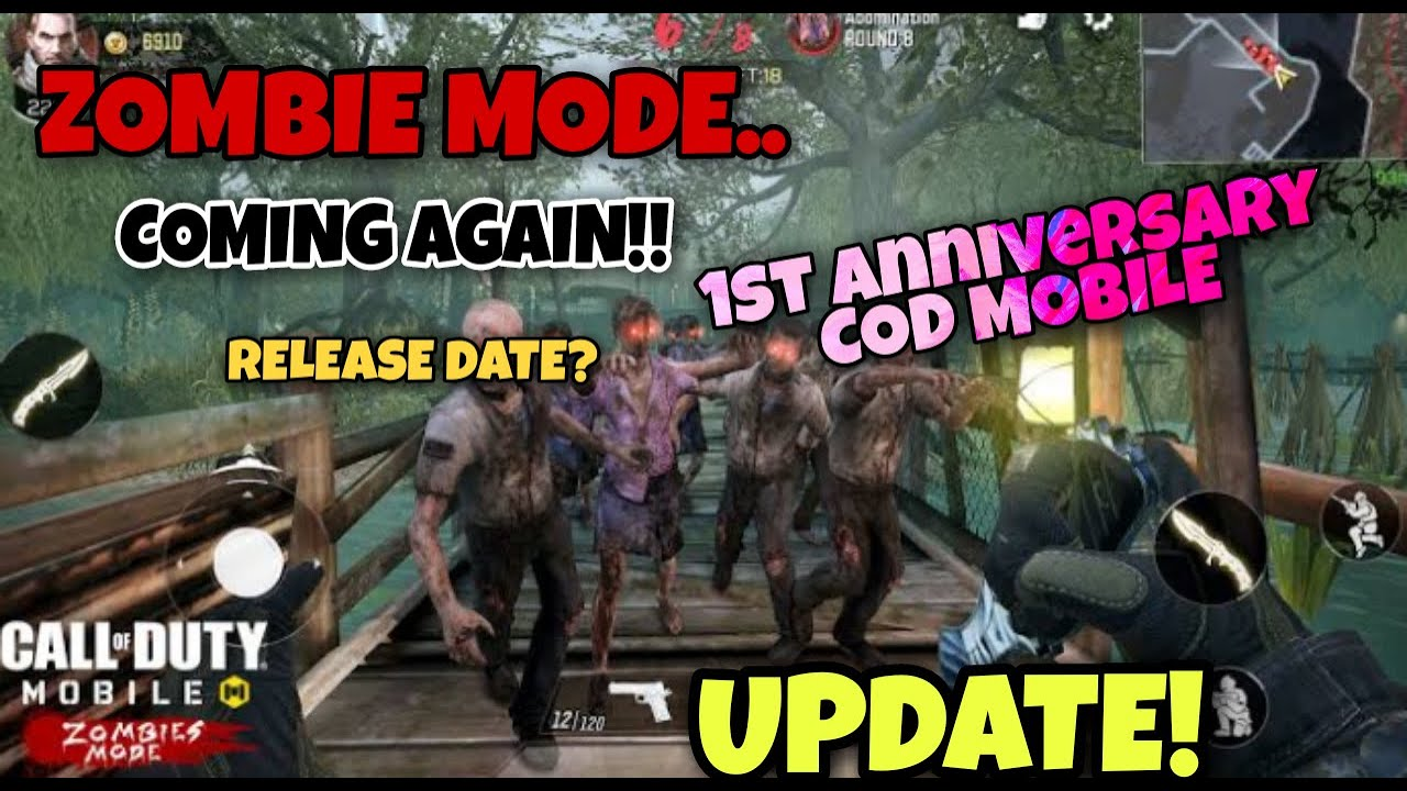 zombie mode release date cod mobile 1st anniversary huge updates cod warzone in mobile youtube zombie mode release date cod mobile